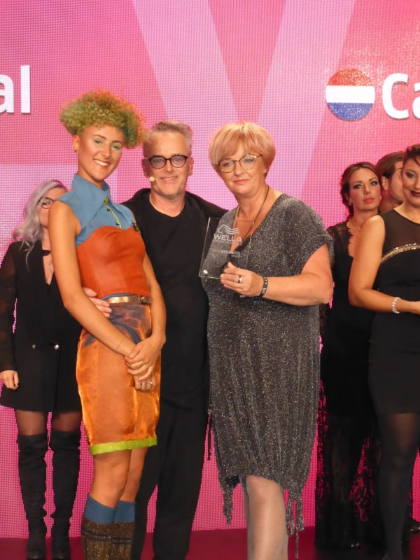 Caroline wint TrendVision SILVER Award